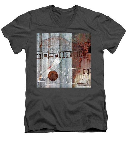 Maps #20 Men's V-Neck T-Shirt