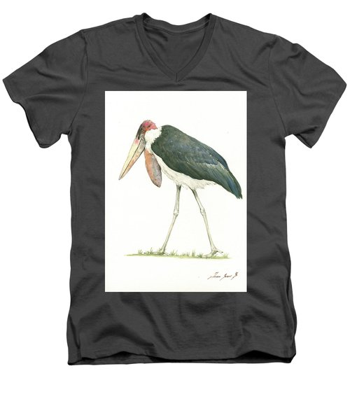 Marabou Men's V-Neck T-Shirt