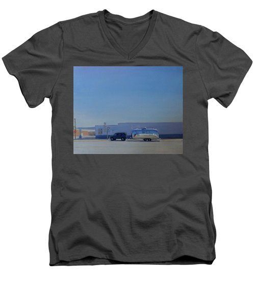Marfa Texas Men's V-Neck T-Shirt