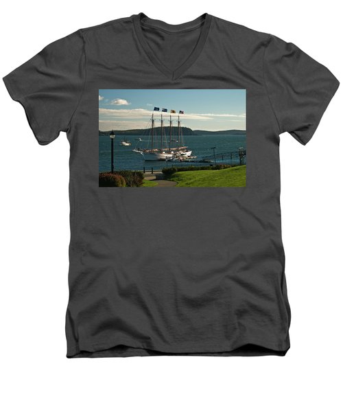 Margaret Todd - Bar Harbor Icon Men's V-Neck T-Shirt