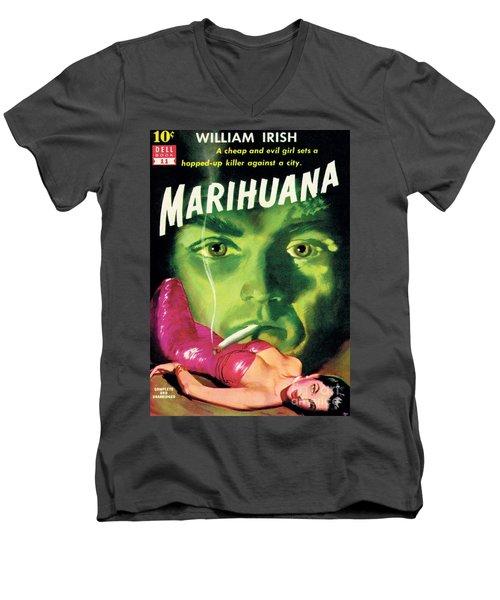 Marihuana Men's V-Neck T-Shirt