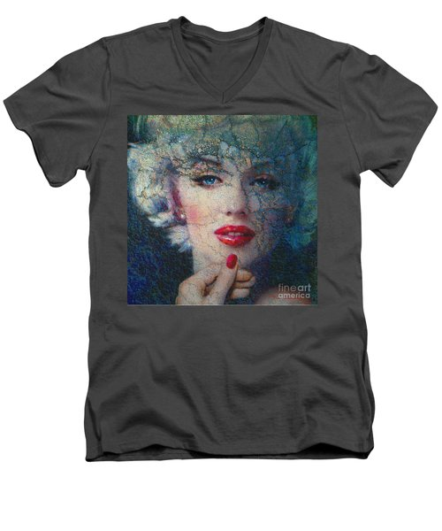 Marilyn Monroe 132 A Men's V-Neck T-Shirt