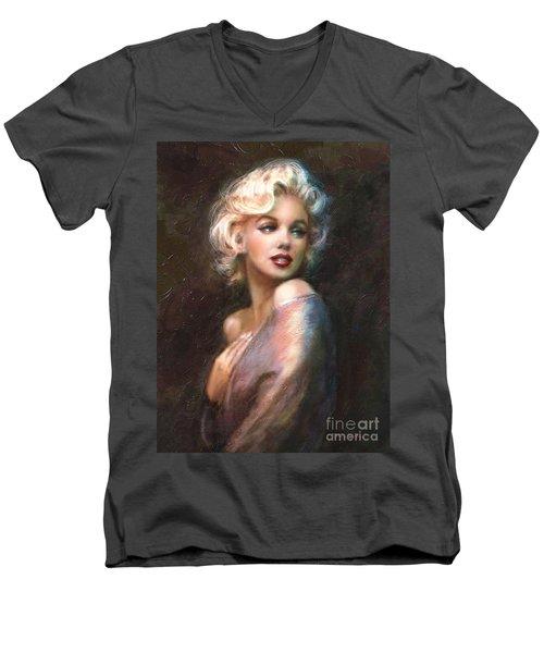 Marilyn Romantic Ww 1 Men's V-Neck T-Shirt