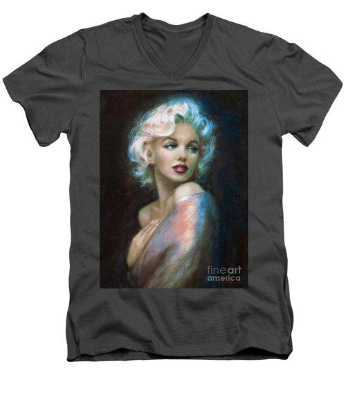 Marilyn Romantic Ww 6 A Men's V-Neck T-Shirt