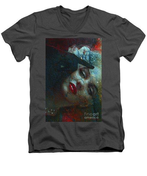 Marilyn St 2 Men's V-Neck T-Shirt