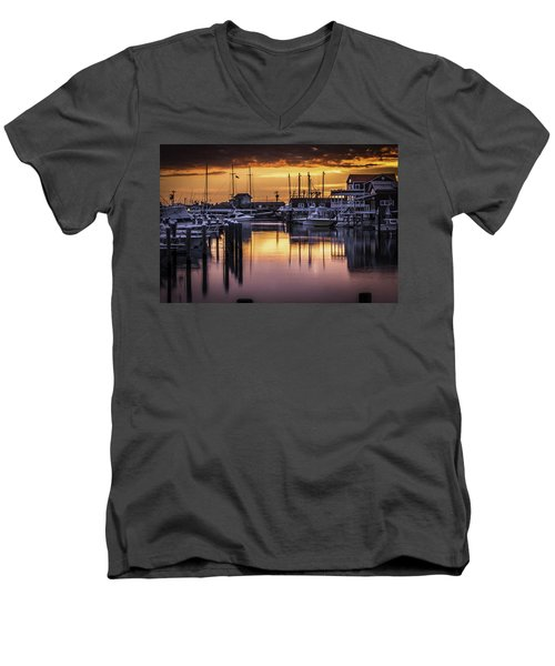 The Floating Sky Men's V-Neck T-Shirt