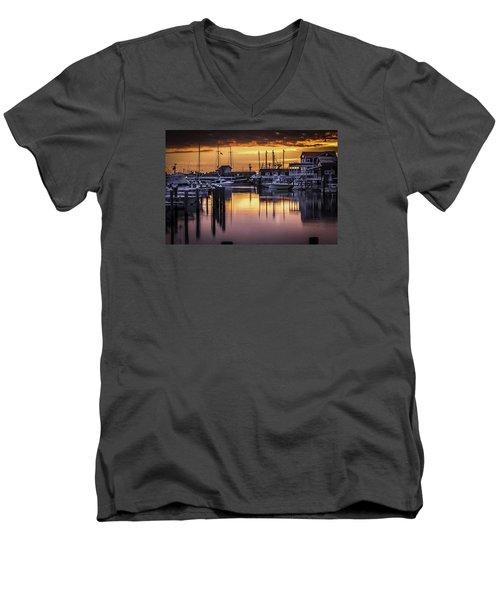 The Floating Sky Men's V-Neck T-Shirt