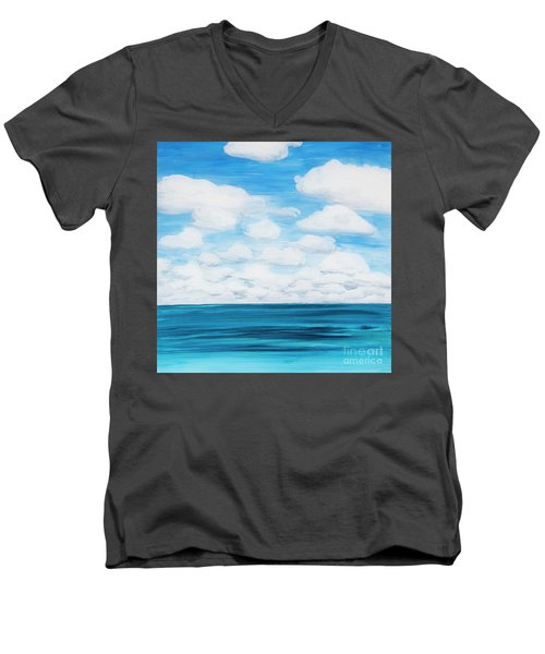 Marine Layer Breaking Up Men's V-Neck T-Shirt