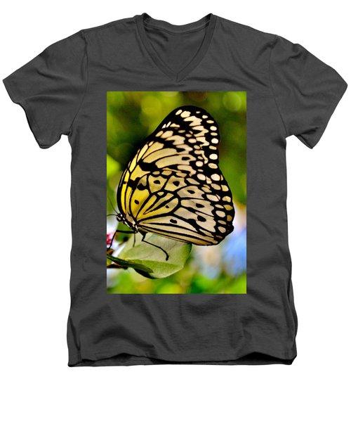 Mariposa Butterfly Men's V-Neck T-Shirt