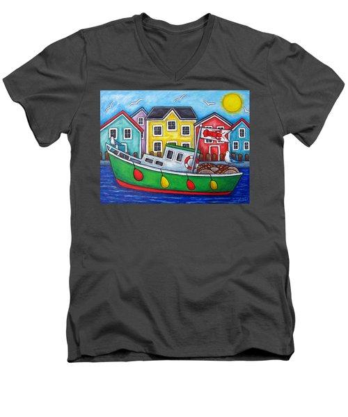 Maritime Special Men's V-Neck T-Shirt