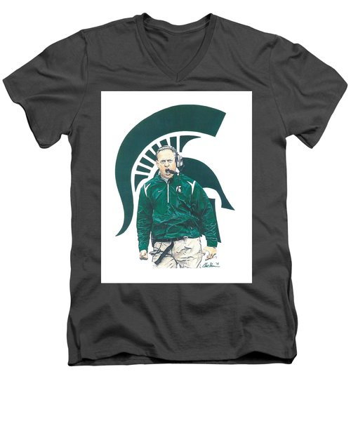 Mark Dantonio Men's V-Neck T-Shirt