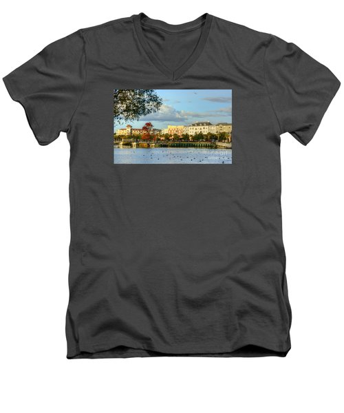 Market Common Myrtle Beach Men's V-Neck T-Shirt