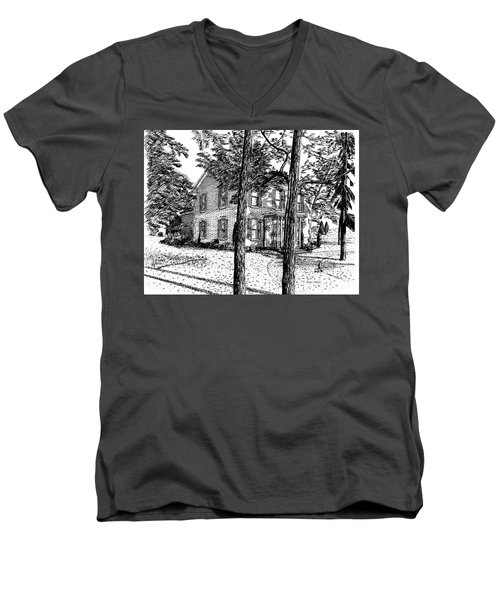 Markham House Men's V-Neck T-Shirt
