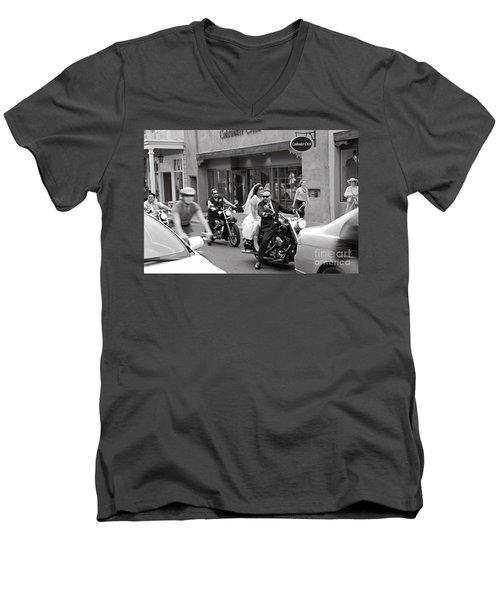 Marriage In Santa Fe Men's V-Neck T-Shirt