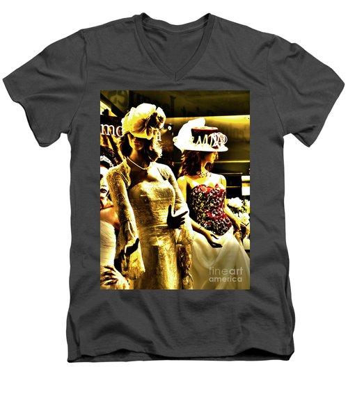 Married Girls Men's V-Neck T-Shirt