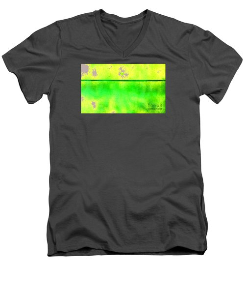 Mars And Europa Men's V-Neck T-Shirt by Albert Puskaric