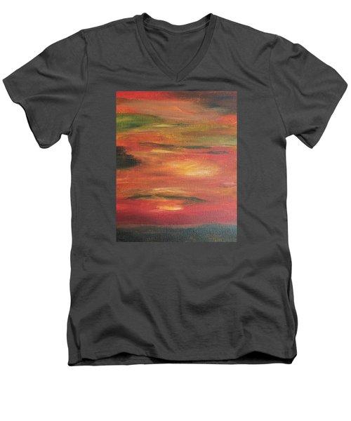 Mars Landing Men's V-Neck T-Shirt