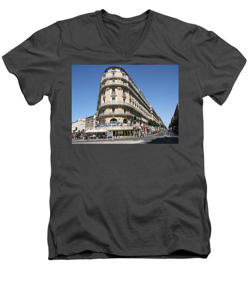 Marseille, France Men's V-Neck T-Shirt