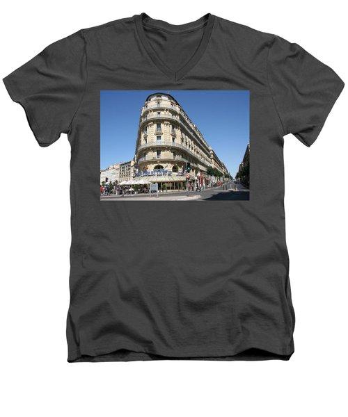 Marseille, France Men's V-Neck T-Shirt