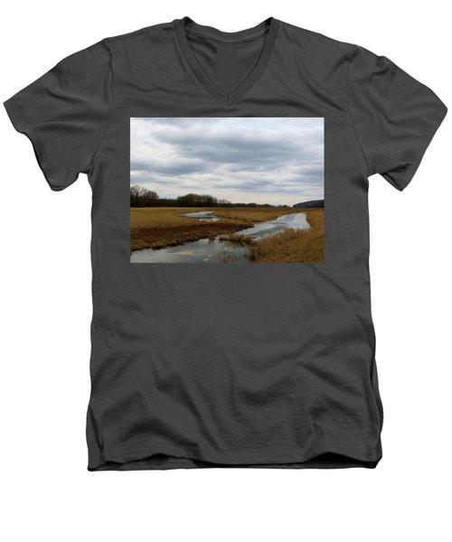 Marsh Day Men's V-Neck T-Shirt