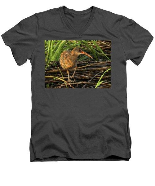 Marsh Hen Men's V-Neck T-Shirt