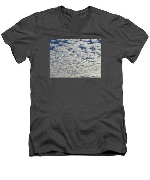 Marshmallow Sky Men's V-Neck T-Shirt