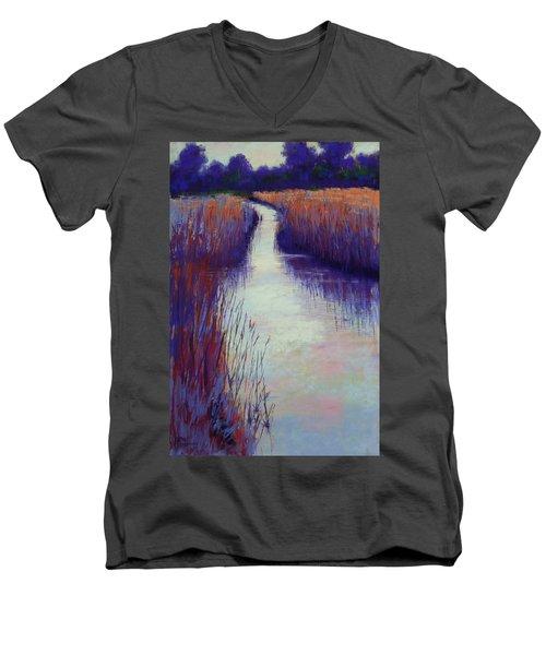 Marshy Reeds Men's V-Neck T-Shirt