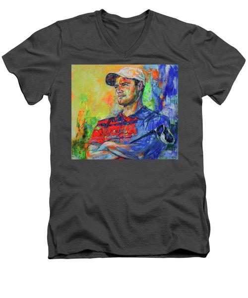Martin Kaymer Men's V-Neck T-Shirt