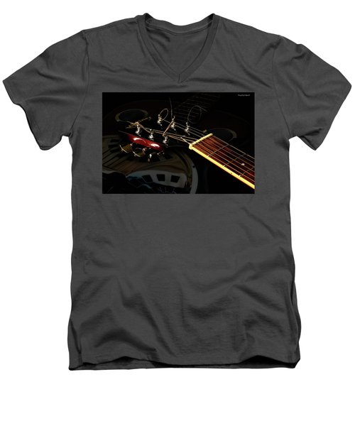 Martinez Guitar 003 Men's V-Neck T-Shirt