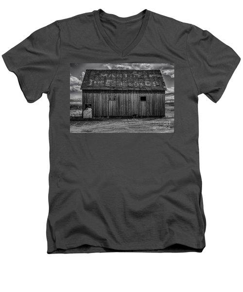 Martins  Men's V-Neck T-Shirt