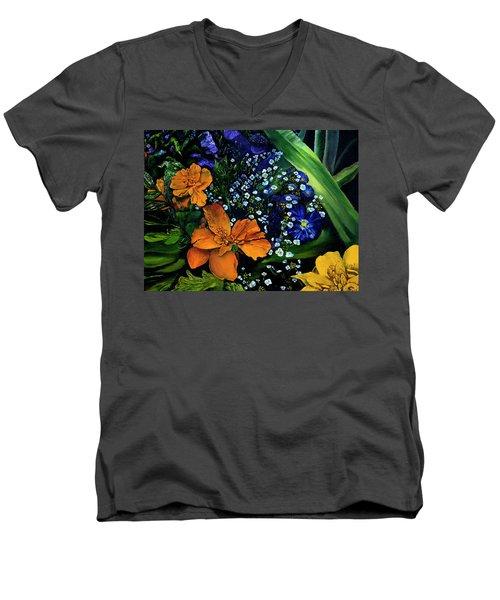 Marty's Gift Basket Men's V-Neck T-Shirt