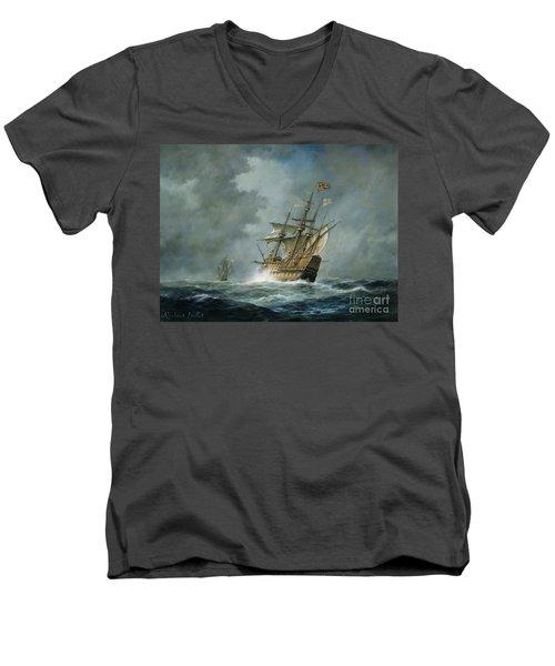 Mary Rose  Men's V-Neck T-Shirt