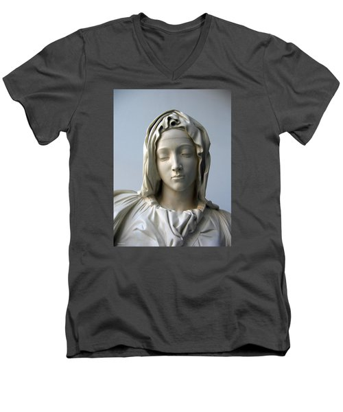 Mary Men's V-Neck T-Shirt