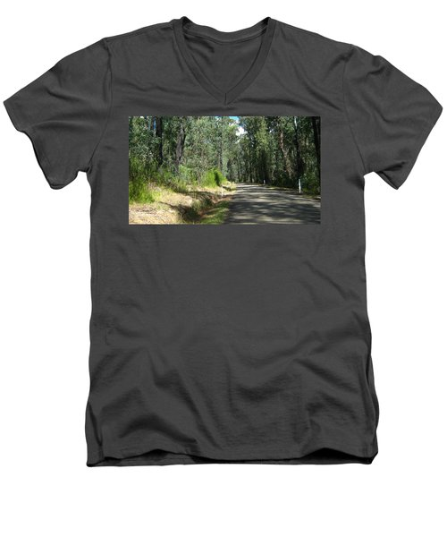 Marysville Trees Men's V-Neck T-Shirt