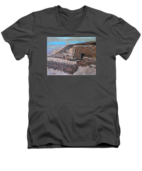 Masada Men's V-Neck T-Shirt