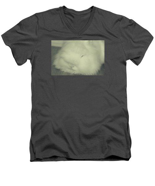 Mashy Potato Men's V-Neck T-Shirt by The Art Of Marilyn Ridoutt-Greene