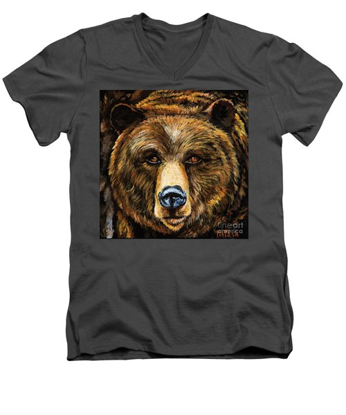 Master Men's V-Neck T-Shirt by Igor Postash