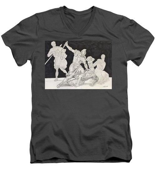 Masterstudy Men's V-Neck T-Shirt