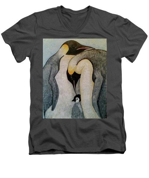 Mate For Life Men's V-Neck T-Shirt