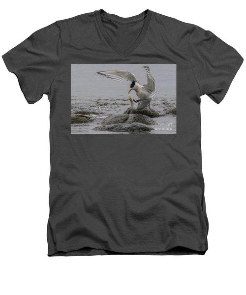 Mating Pair 2 Men's V-Neck T-Shirt