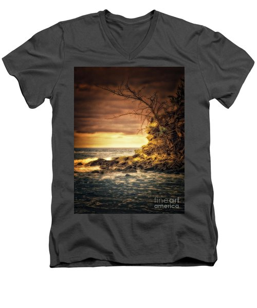 Maui Ocean Point Men's V-Neck T-Shirt
