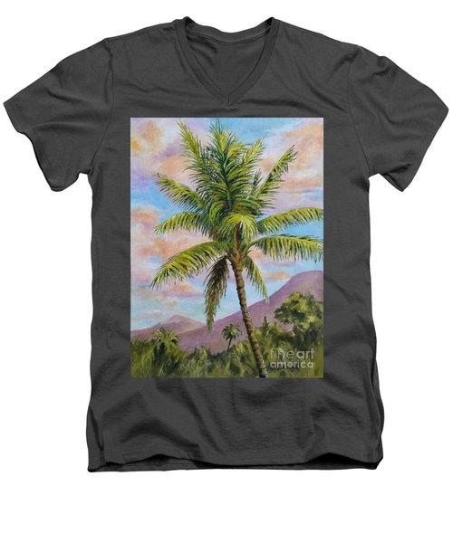 Maui Palm Men's V-Neck T-Shirt