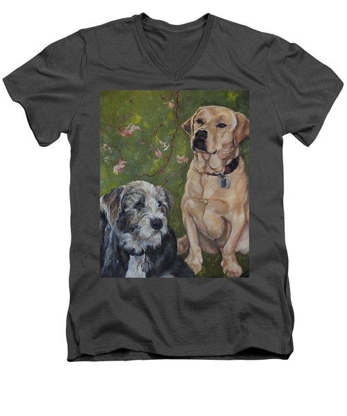 Max And Molly Men's V-Neck T-Shirt