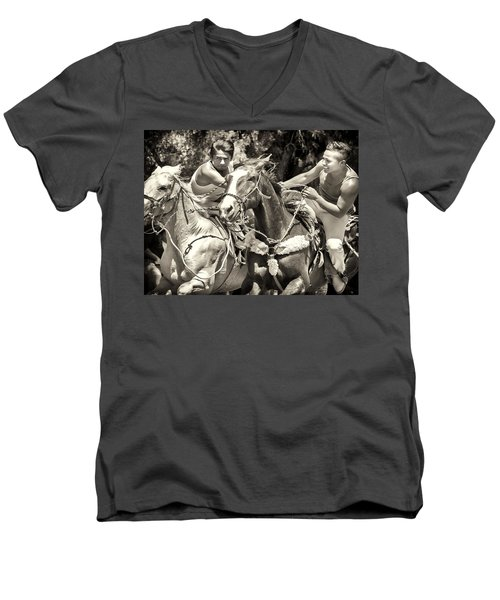 Maximum Power Men's V-Neck T-Shirt