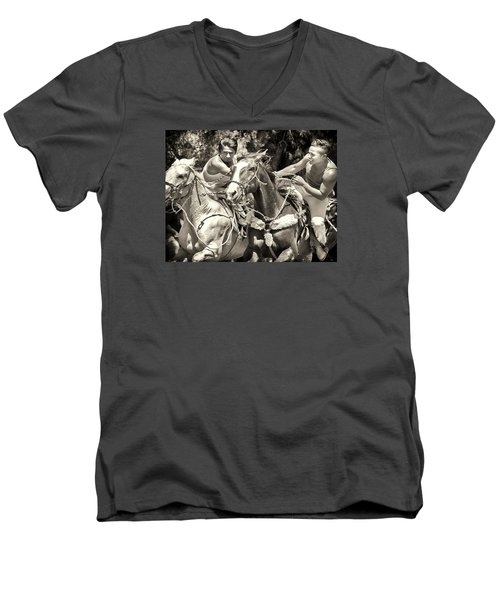 Maximum Power Men's V-Neck T-Shirt