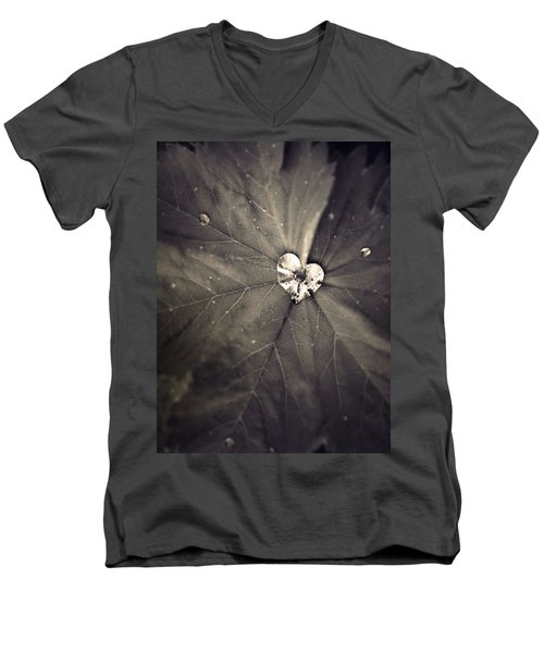 May 11 2010 Men's V-Neck T-Shirt by Tara Turner