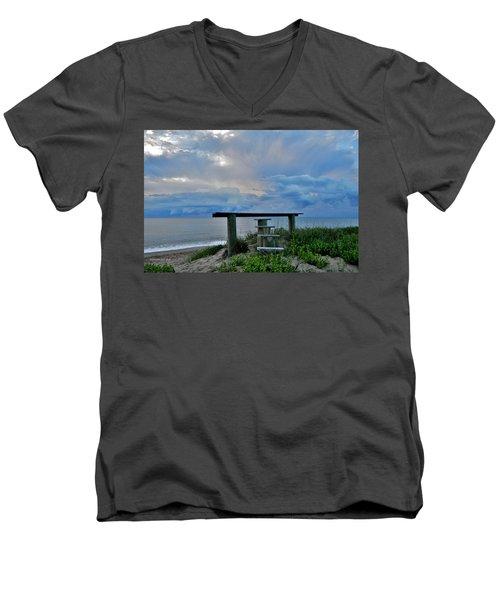 May 7th Sunrise Men's V-Neck T-Shirt