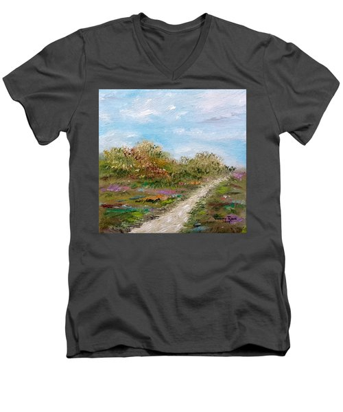 May The Road Rise Up To Meet You Men's V-Neck T-Shirt