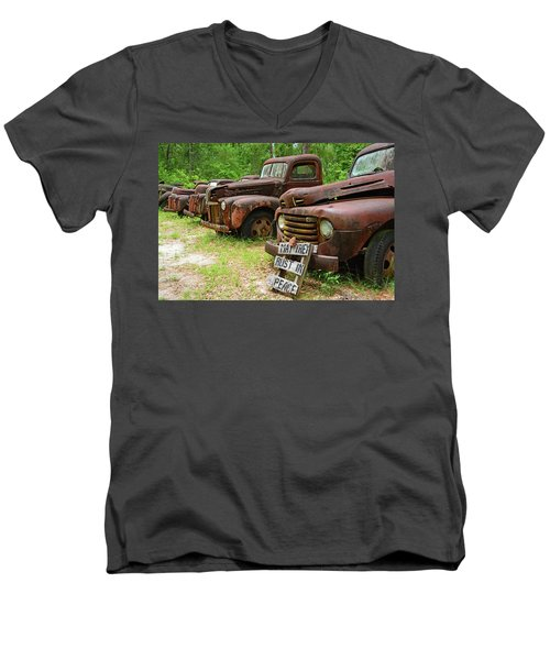 May They Rust In Peace Men's V-Neck T-Shirt