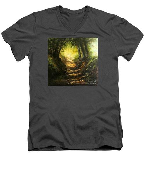 May Your Light Always Shine Men's V-Neck T-Shirt